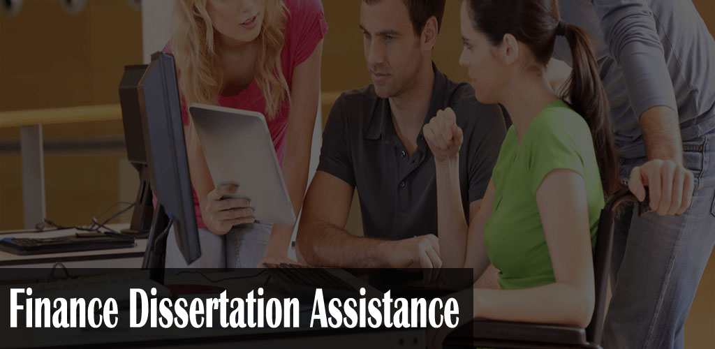 Finance Dissertation Assistance